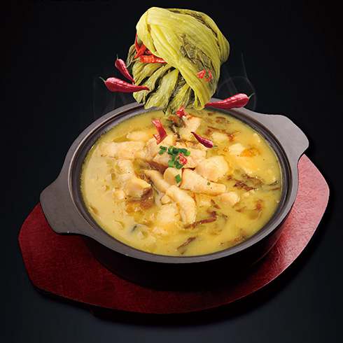 欢辣啵啵鱼快餐-浓香酸菜啵啵鱼