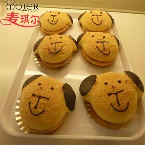 麦琪尔烘焙-小狗面包