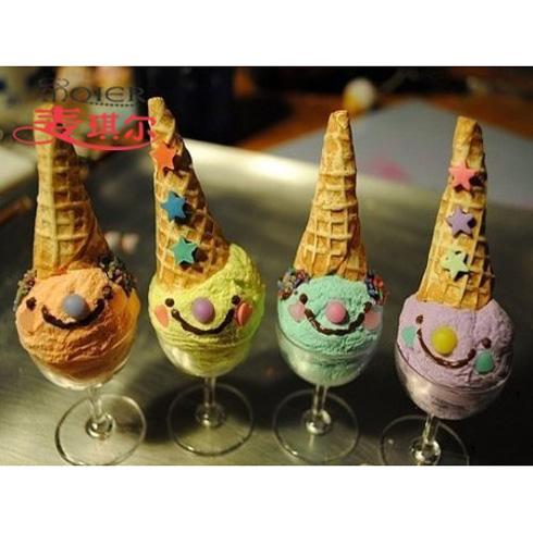 麦琪尔烘焙-可爱雪人冰淇淋