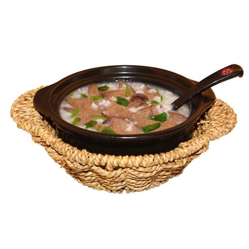 一粥七天养生粥-猪肝菠菜粥