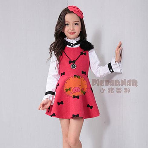 小猪芭那童装-秋季连衣裙
