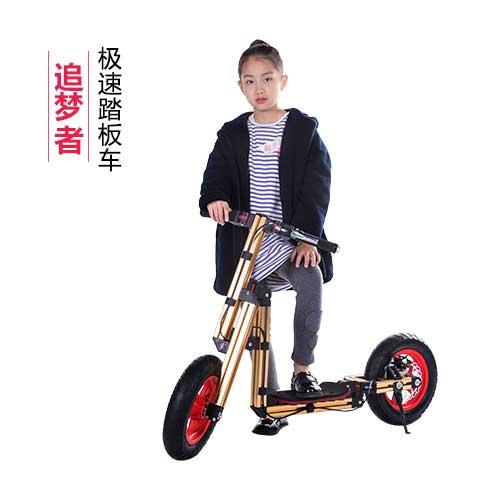 任性宝贝百变童车-极速踏板车