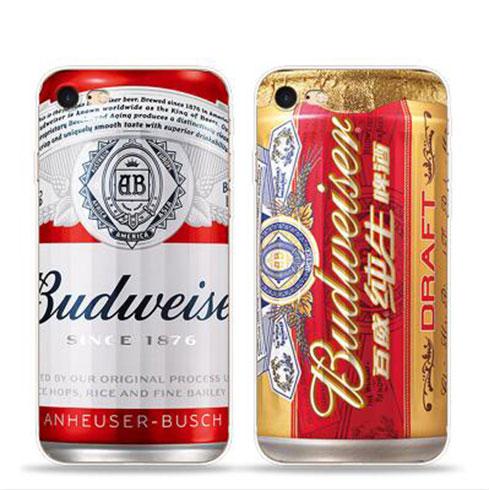 玩美创意手机壳-啤酒磨砂手机壳