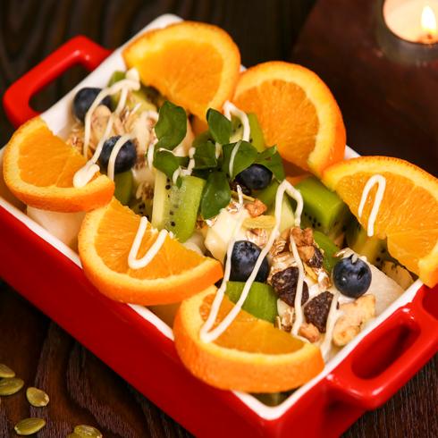 蜜特蜜思汉堡-水果沙律