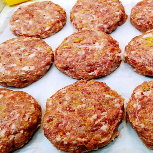 蜜特蜜思汉堡-牛肉饼