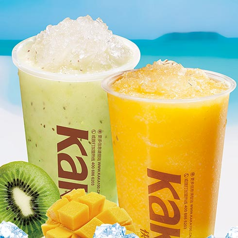快乐KaKa奶茶小吃-水果冰沙