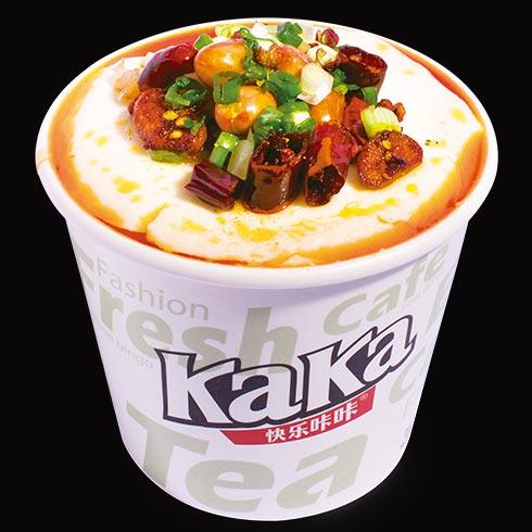 快乐KaKa奶茶小吃-香辣豆腐脑