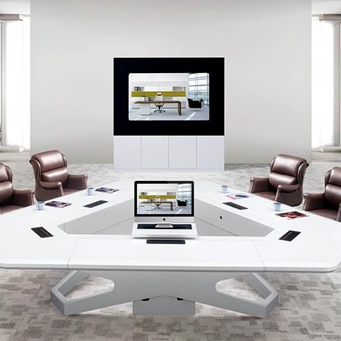 安达-会议桌