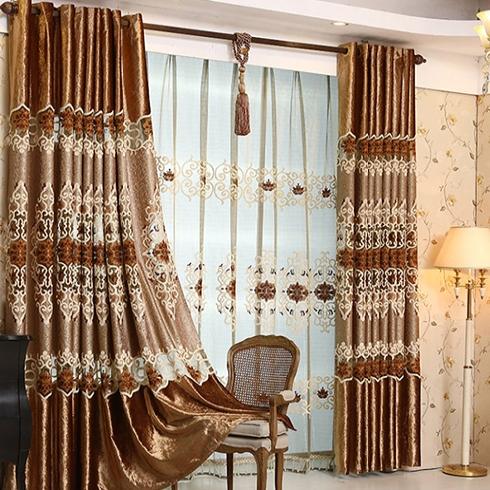 寐莎-中式风格窗帘