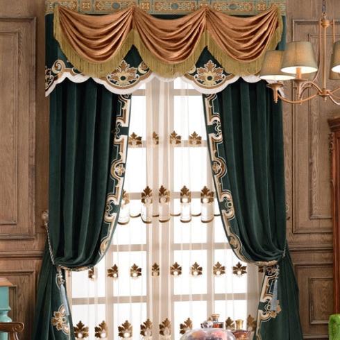 寐莎-美式风格窗帘