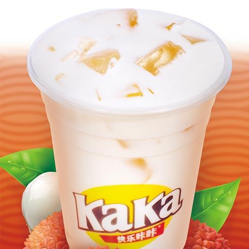 快乐KaKa奶茶-荔枝奶茶