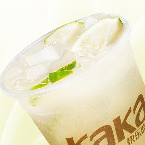 快乐KaKa奶茶-椰香柠檬汁