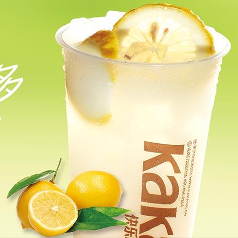 快乐KaKa奶茶-柠檬益菌多