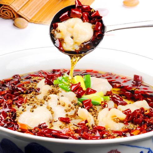 非渔莫蜀藤椒鱼饭-麻辣啵啵鱼
