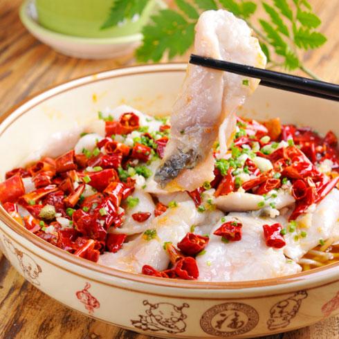 非渔莫蜀藤椒鱼饭-香辣鱼