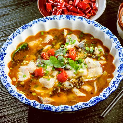 非渔莫蜀藤椒鱼饭-酸菜鱼
