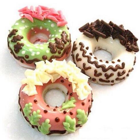 花漾奶-奶油甜甜圈