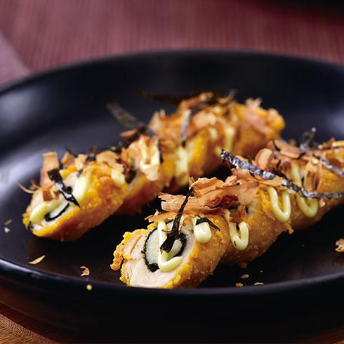 正仔炸鸡-鸡排寿司
