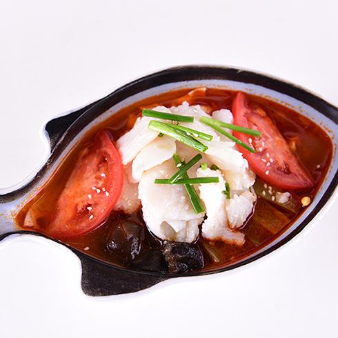 你一言我一鱼酸菜鱼-美颜番茄鱼