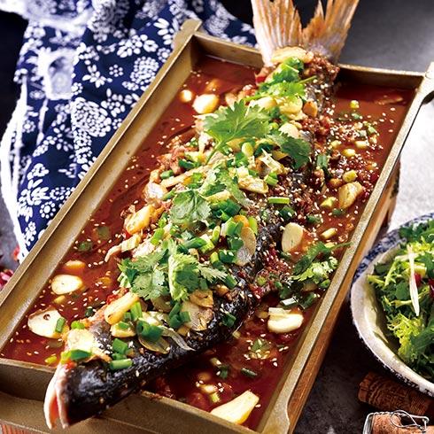 炉鱼传祺烤鱼-蒜香烤鱼