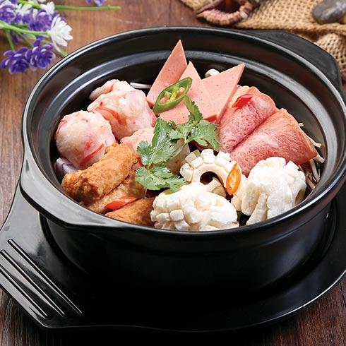 虾得乐烧汁虾米饭-虾丸饭