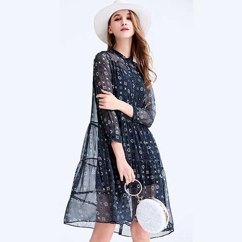 艾米女装-小清新连衣裙