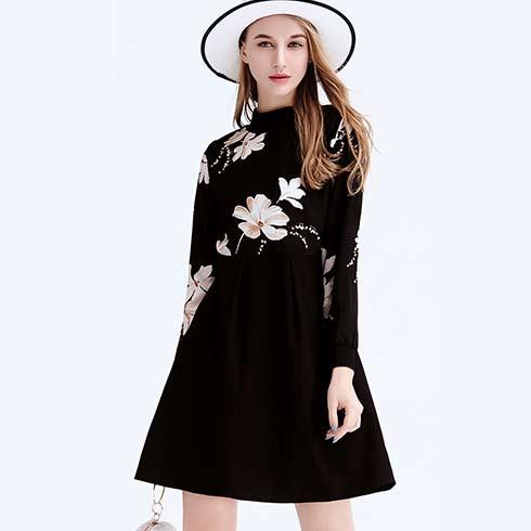 艾米女装-黑色连衣裙