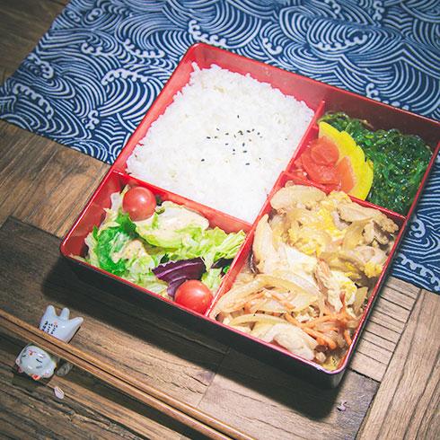 弁当物语日式便当-日式亲子丼饭便当
