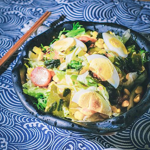 弁当物语日式便当-和风沙拉