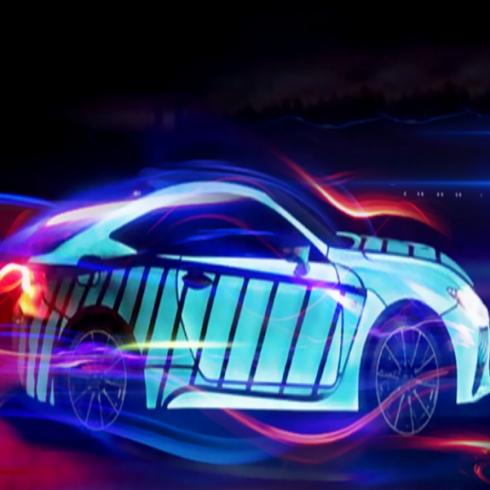 萤火虫-汽车电光漆