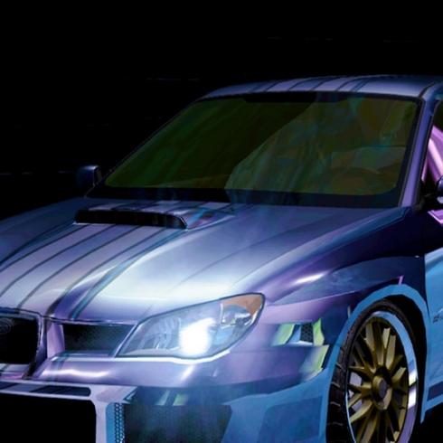 萤火虫-汽车电光涂装