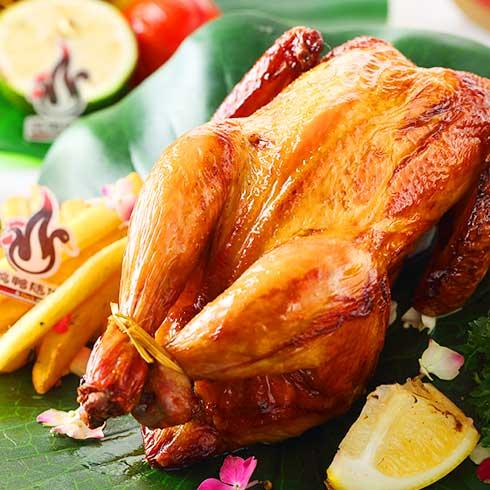 鸡鸭随你小吃-田园烤鸡