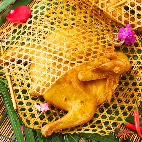 鸡鸭随你小吃-竹编鸭