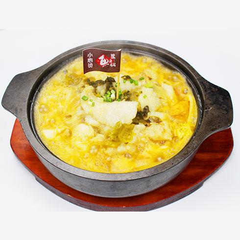 簋鱼锅啵啵鱼快餐-老坛酸菜啵啵鱼