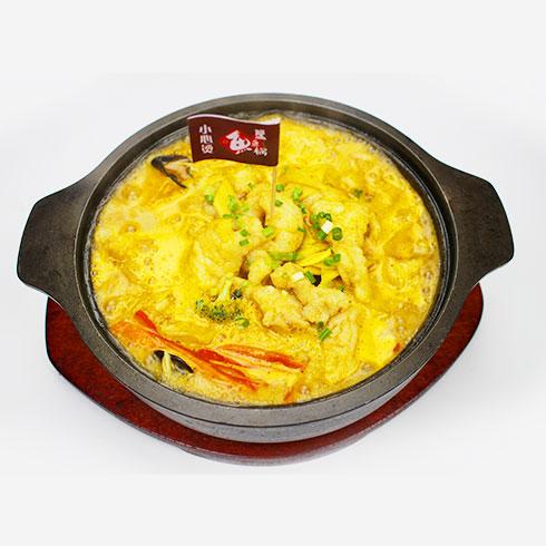 簋鱼锅啵啵鱼快餐-金汤啵啵鱼