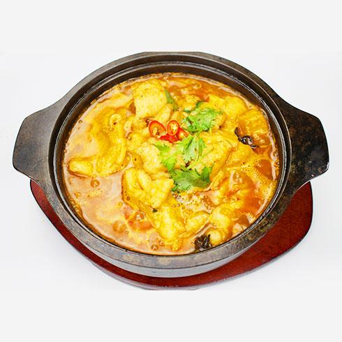 簋鱼锅啵啵鱼快餐-麻辣啵啵鱼