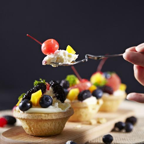 CLBAKE枫焙烘焙-杂果芝士挞