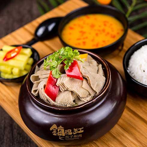 锅得缸坛子焖肉-毛肚套餐
