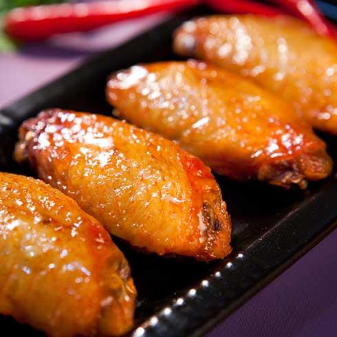 锅得缸坛子焖肉-蜜汁鸡翅