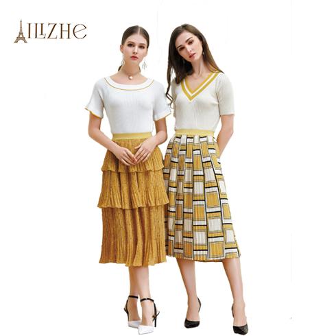 艾丽哲女装-夏季新款针织衫