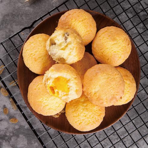 蓉姐手作拔丝蛋糕-蛋黄酱拔丝蛋糕