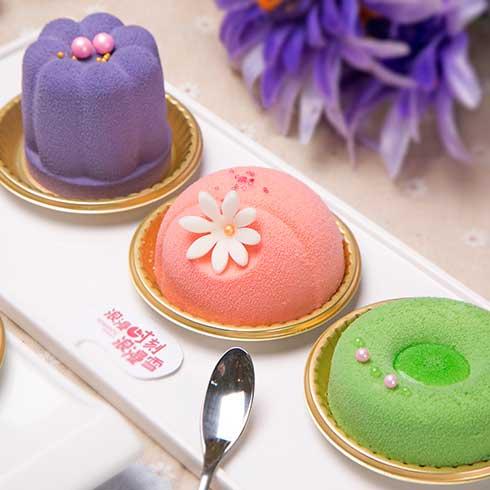 浪漫雪冰淇淋-意式浪漫甜品