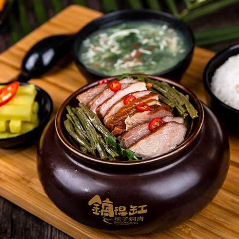 锅得缸坛子焖肉-特色坛子东坡肉