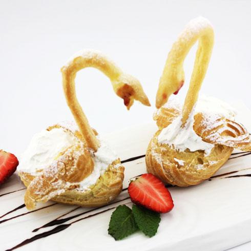 玛丽莲甜品-天鹅之恋甜品