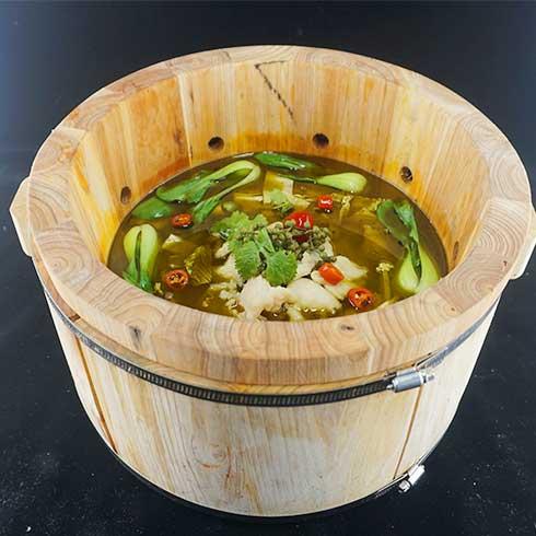 鱼你相伴喷泉鱼火锅-泡椒麻辣鱼火锅