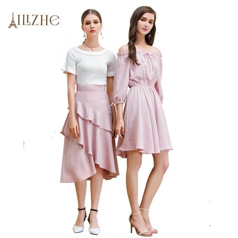 艾丽哲女装-时尚夏日连体裙