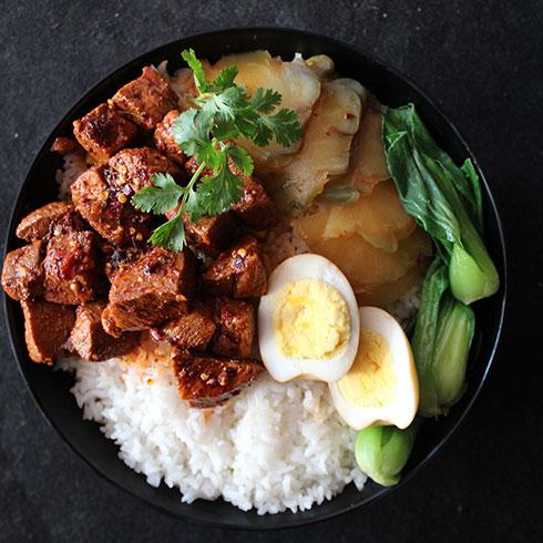 馋二坛小锅米线-红烧牛肉饭
