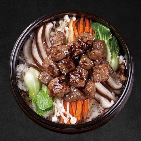 蓉姐钵钵鱼-排骨石锅饭