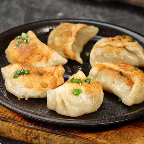冭牛锅贴-香脆煎饺