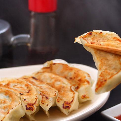冭牛锅贴-三鲜煎饺